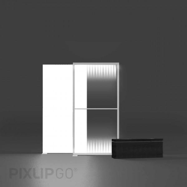 PIXLIP GO | Lightbox 100 cm x 200 cm indoor | einseitig
