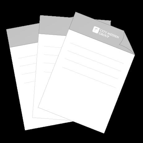 Briefpapier DIN A4 - beidseitig