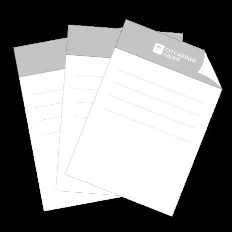 Briefpapier DIN-A4 - einseitig