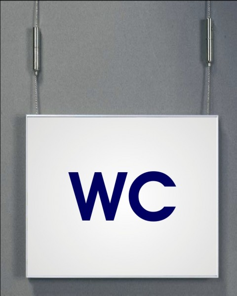 Deckenhänger | System Karlsruhe | 42 cm x 15 cm