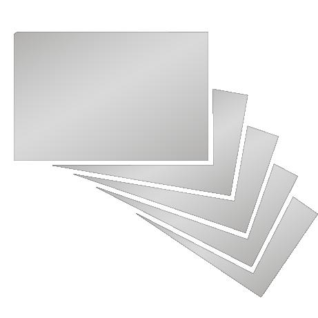 partieller UV-Lack beidseitig