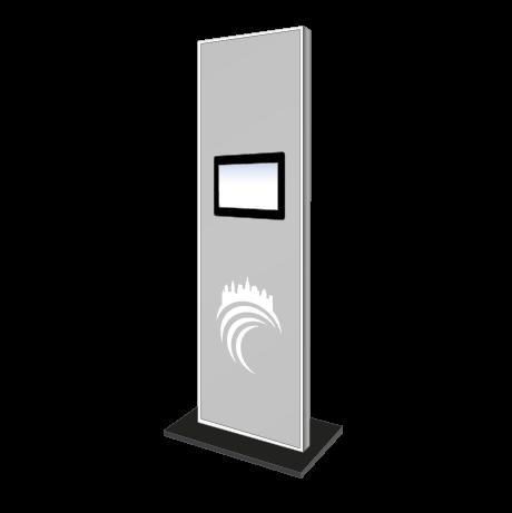 Präsentations-Display mit Monitor